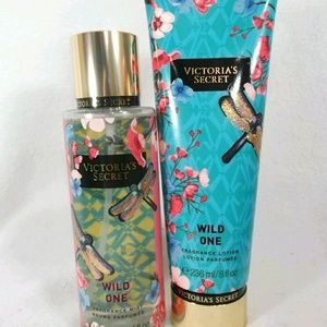 Victoria's Secret Wild One body mist and lotion